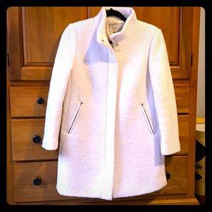 LOFT Cream Medium Petite Winter Coat